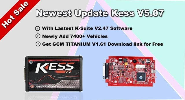 Kess 5 017 EU Clone Red PCB With K-suite 2 47 Download