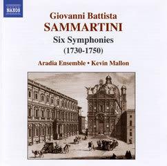 G.B.サンマルティーニの交響曲集 - CELLOLOGUE