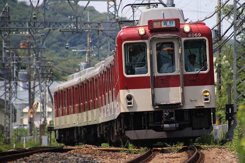 吉野急行,6020系,近鉄電車,鉄道写真