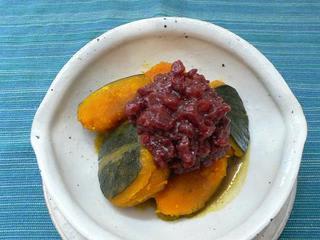 こう言った「かぼちゃと小豆のいとこ煮」のレシピばかりです。
