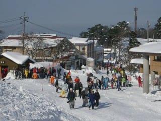 中の原スキーセンター前