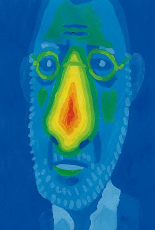 ジャン・レノの似顔絵イラスト画像