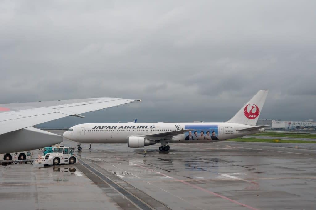 新千歳遠征記#1 往路搭乗記 (9月2日 JL511便 羽田~新千歳 ...