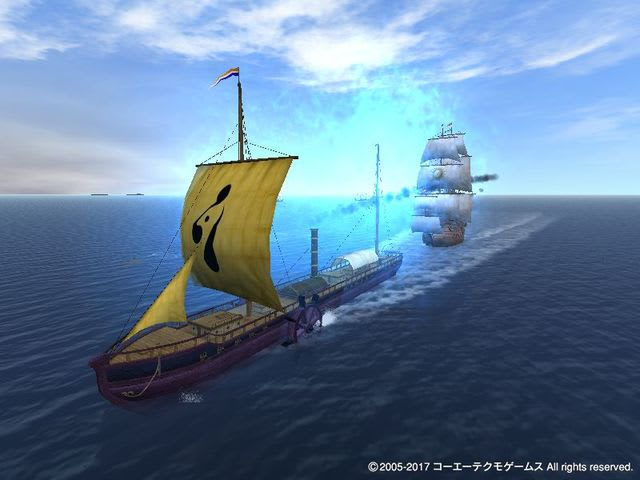大航海時代Online 『蒸気船』建...