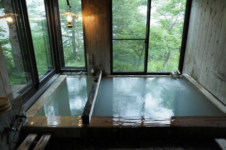 高峰温泉浴室「ランプの湯」