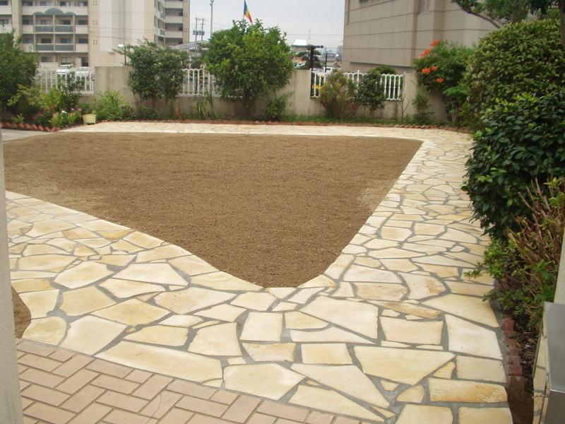 庭園改修現場6