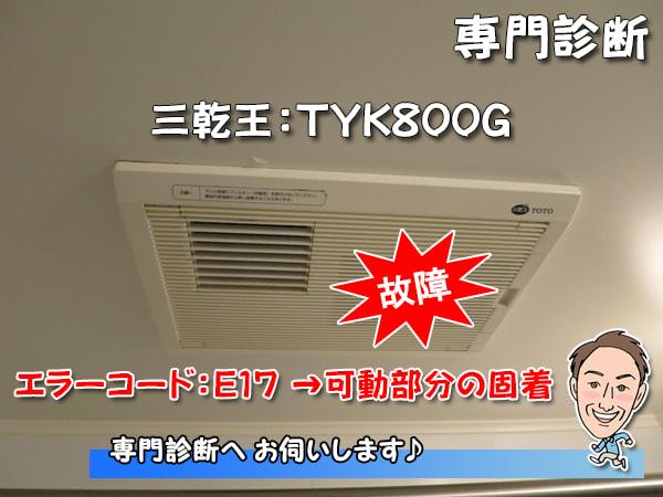 三乾王TYK800G写真