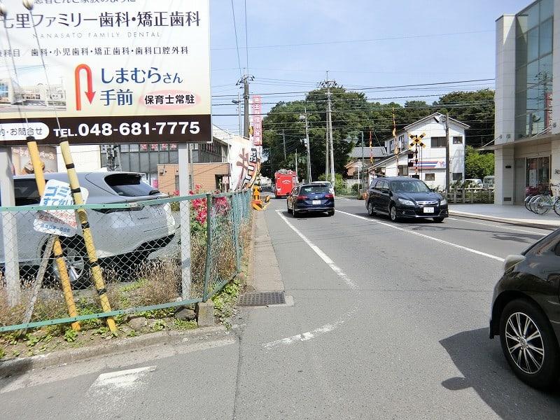 七里駅から見沼区小深作を歩く -...