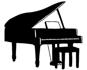 ピアノ イラスト シンプルイラスト素材