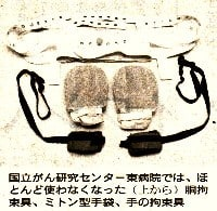 身体拘束器具