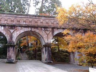 続いて、南禅寺水路閣です。
