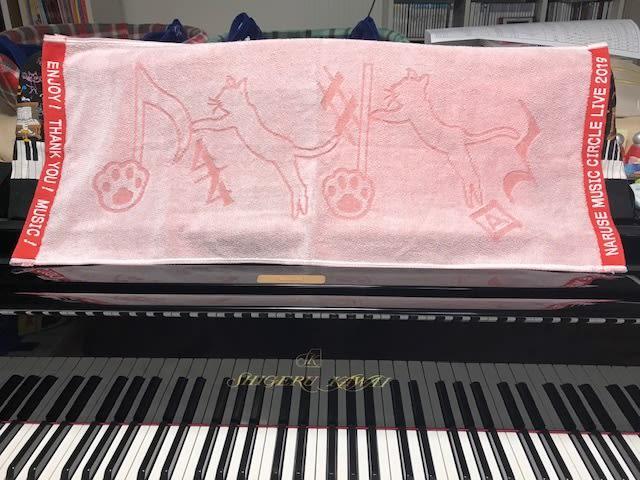 ピアノ発表会記念品はオリジナルタオルです