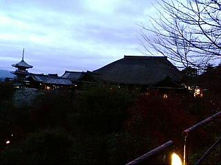 清水寺に来ています。
