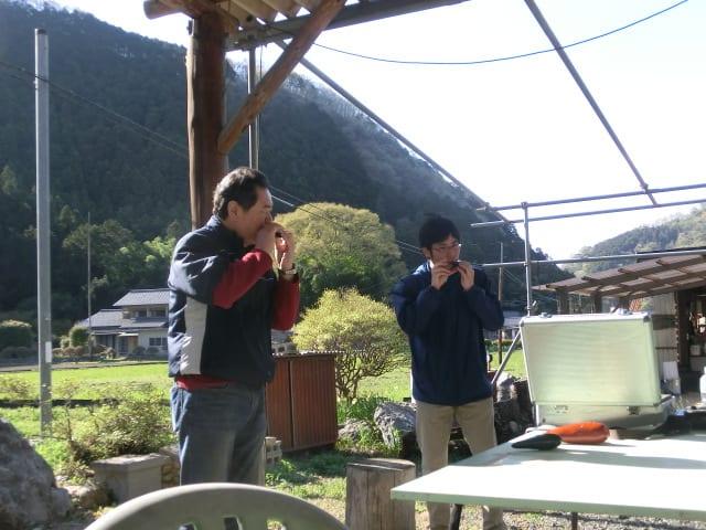 五水井さんと洋介さん