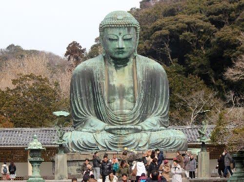神奈川県鎌倉市長谷にある高徳院...