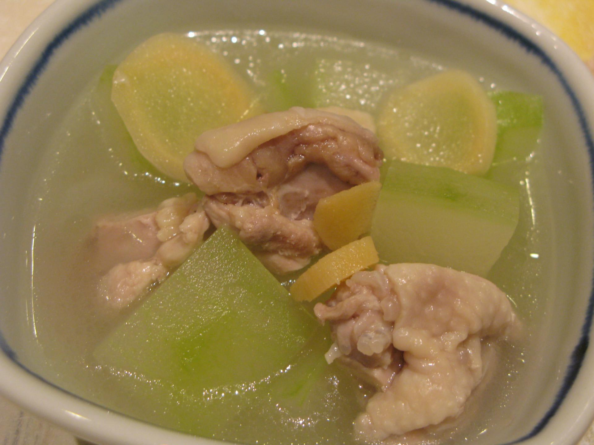 鶏肉 レシピ 冬瓜