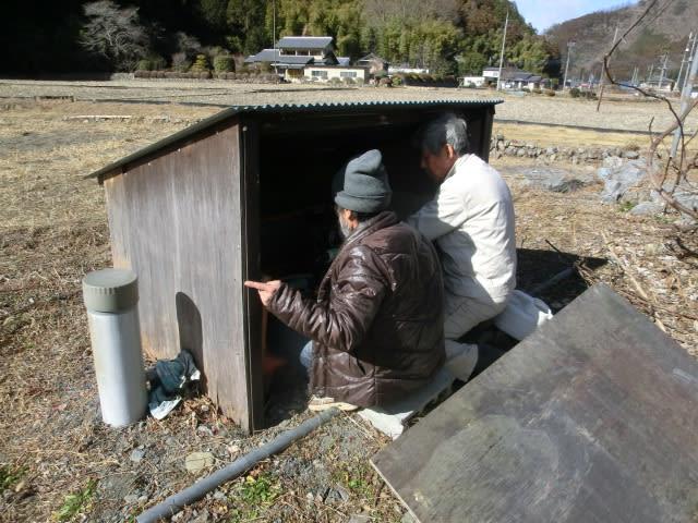 水道ポンプ修理中?