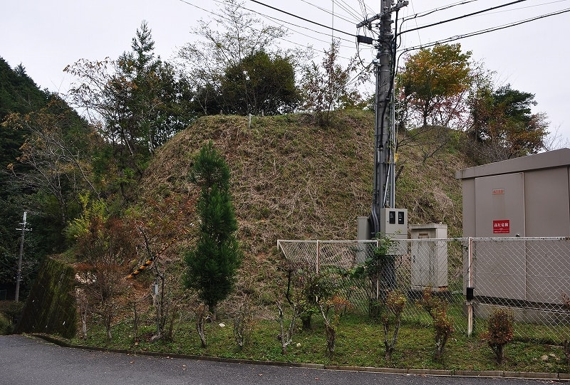西谷2号墳の丘