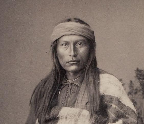 アパッチ族の酋長コーチースが死...