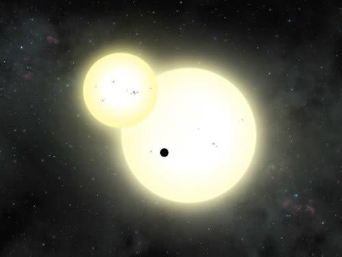太陽を2つ持つ惑星に生命は存在...