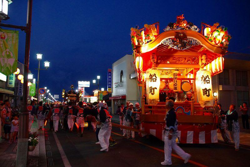 壬生町 本日も八坂祭に 27.7.12 - 栃木の木々