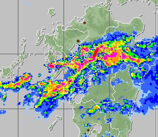 熊本 天気 雨雲レーダー