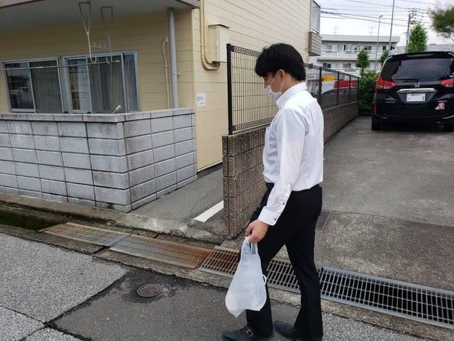 早朝掃除の様子です | 高知で月々三万円で新築を建てるならサン・ブランドハウス