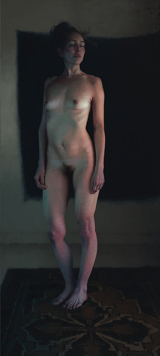 Standing Female Nude (Loni, Standing)