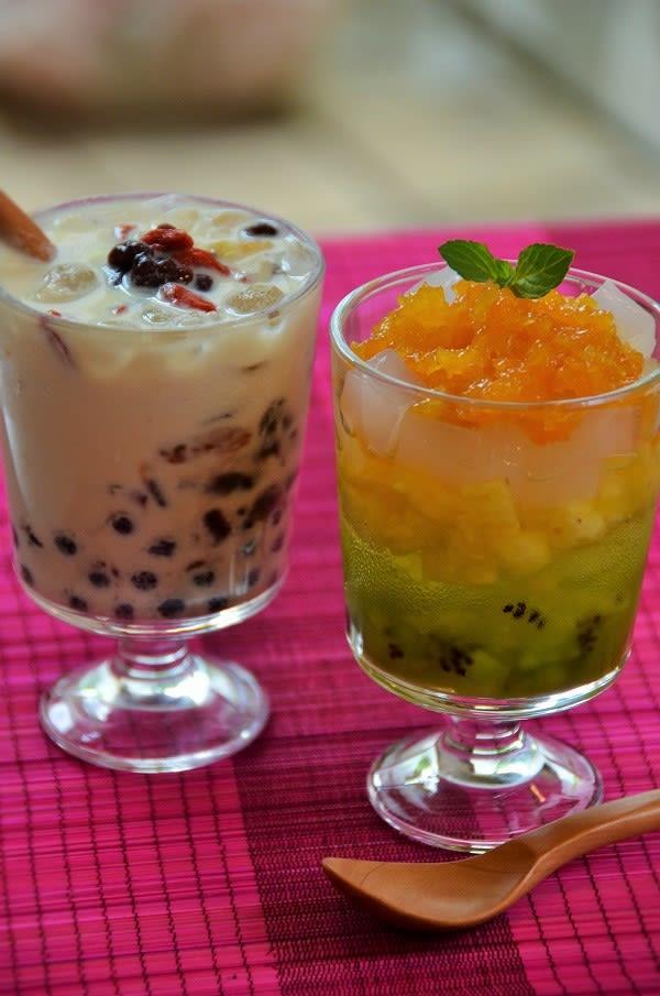 アガベでベトナム風ひんやりデザート , アガベシロップレシピ