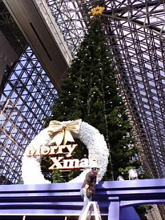 京都伊勢丹のクリスマスツリー