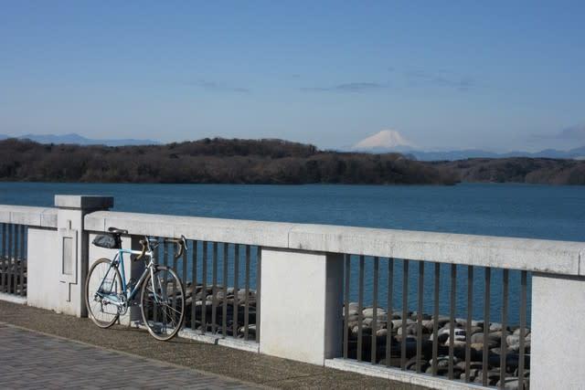 多摩湖 狭山湖 サイクリング 自転車