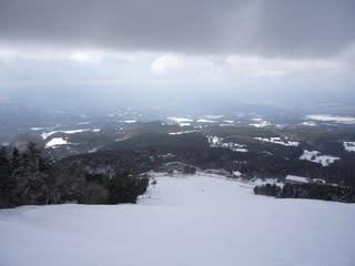 大山上の原スキー場、ゲレンデ情...