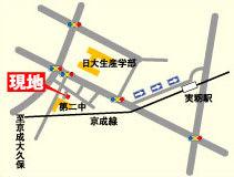 実籾現地案内図