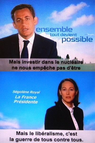 仏大統領選挙:第1回投票の結果...