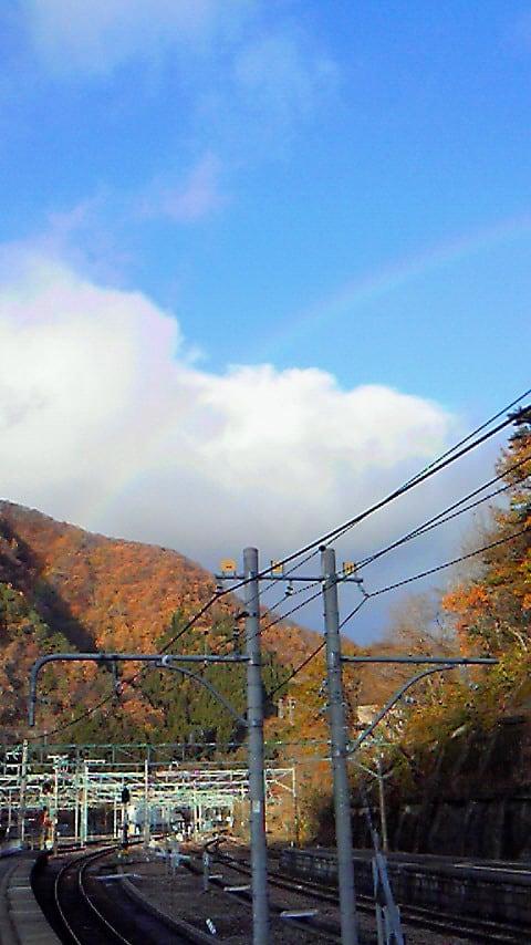 今日は何度も虹を見ることが出来ました。\(^O^)<br />  /
