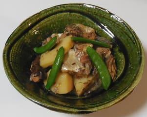 筍とサバの煮物