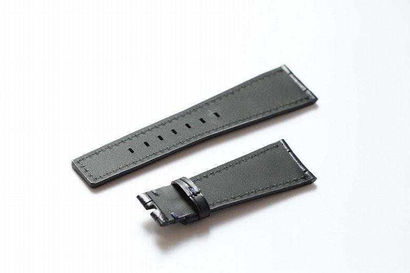 quality design 1f16a 78225 B&R BRSオフィサーシルバー × オーダーベルト - 林時計鋪
