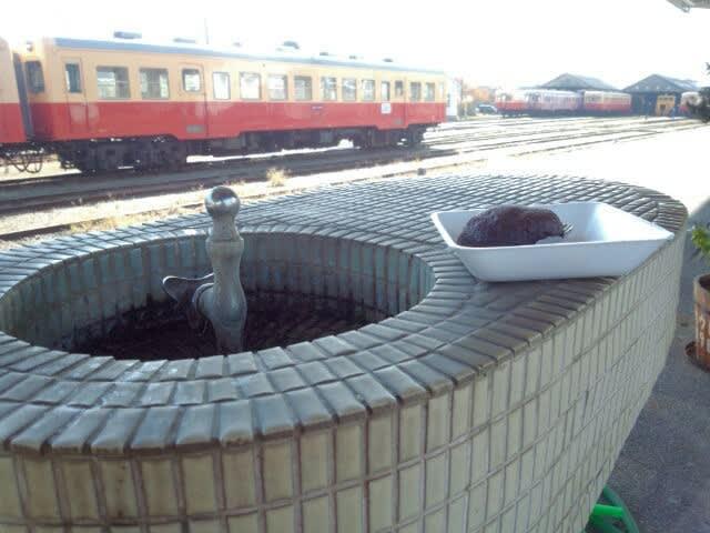 小湊鉄道とおはぎ