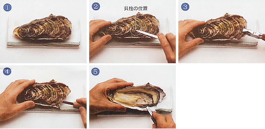 の 剥き 方 牡蠣