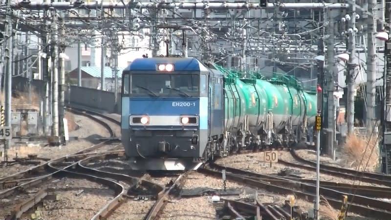 JR貨物EH200形電気機関車(EH200...