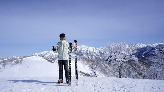 ジャム 勝山 天気 スキー