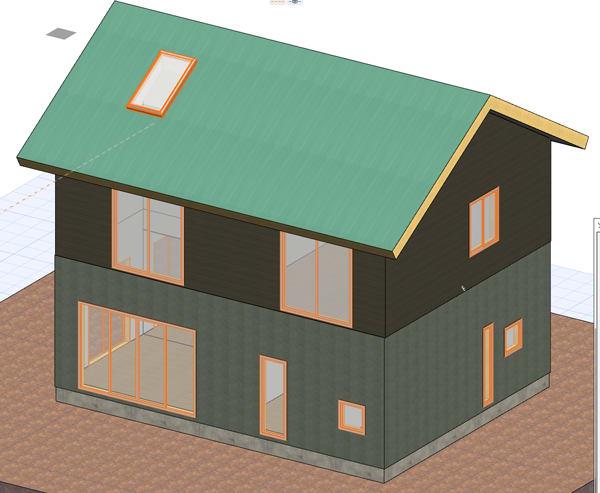 6寸勾配屋根の画像