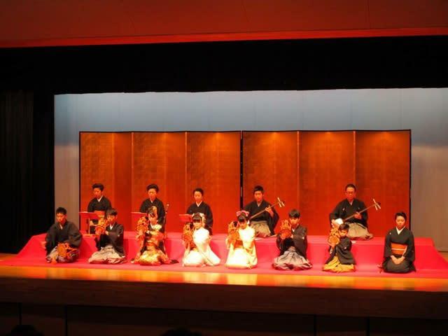 伝統文化親子教室 発表会でした ...