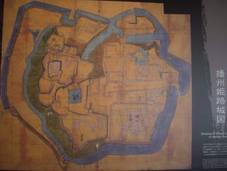姫路城絵図