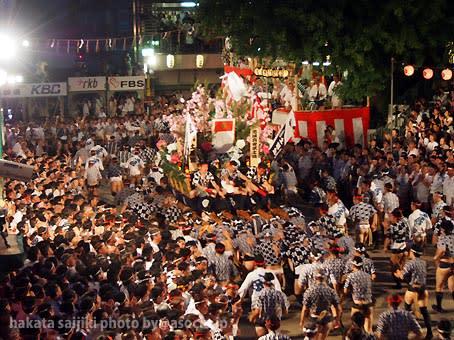 「博多祇園山笠 2018 追い山」の画像検索結果