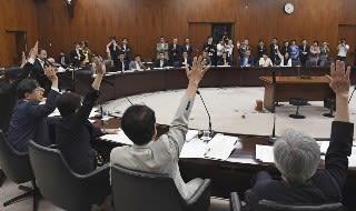 2018 06 28 与野党の主戦場は参院内閣委 IR実施法案めぐり会期末ギリギリ【保管記事】