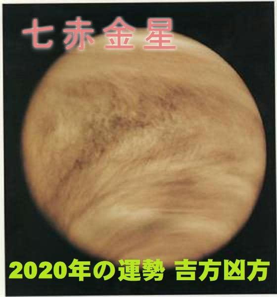金星 2020 赤 年 七