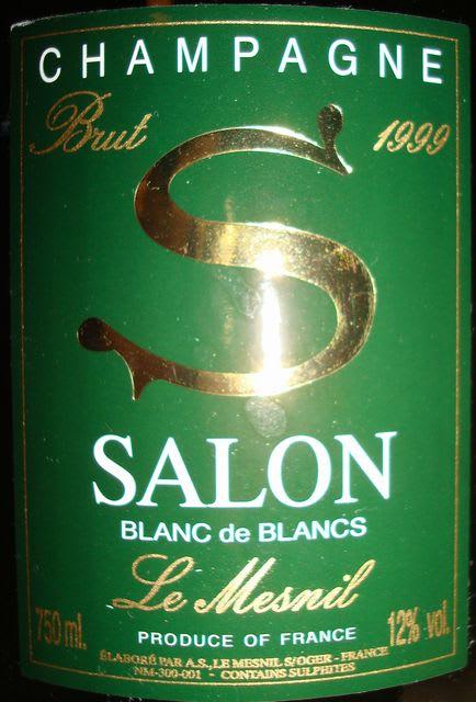 SALON Blanc de blancs 1999 - 個人的ワインのブログ