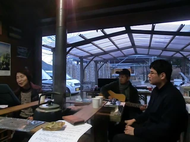 村上さんのギター