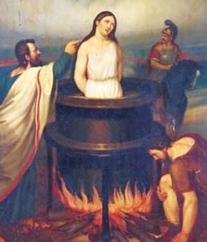 聖ユリアナおとめ殉教者 分娩および伝染病の守護の聖人 - カトリック ...